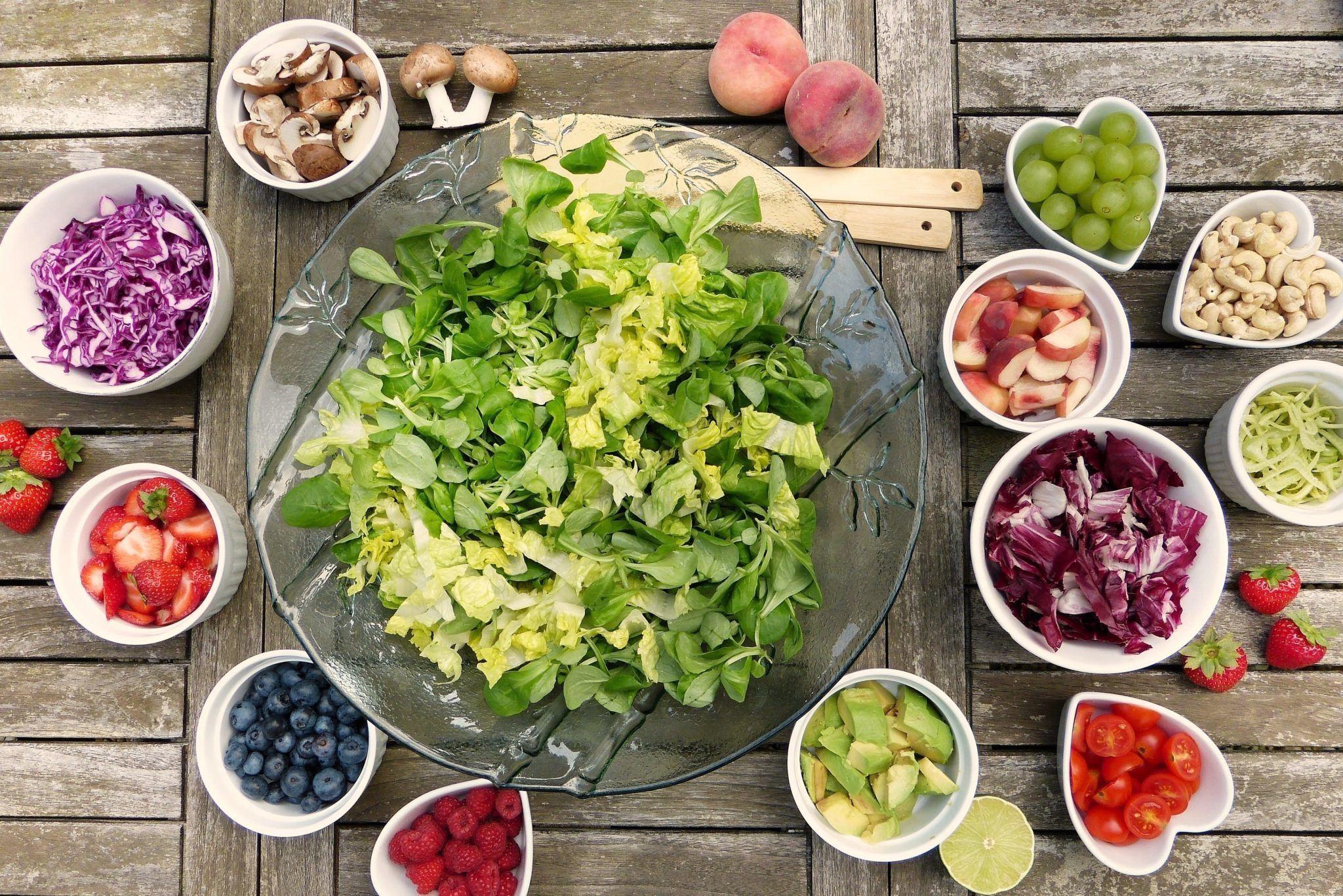 Soviel tägliches Grün wie es der Magen verträgt - a salad a day keeps the doctor away! Ja Vital Fit